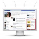Виды рекламы в Facebook