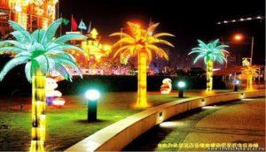 пальмы светодиодны