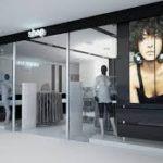 Проекционные витрины